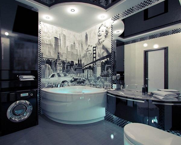 Farklı Tarzda Banyolar