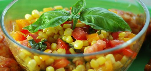 mısır salatası