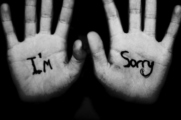 özür dilemek
