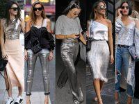 Yeni Sezon Metalik Kıyafet Modası
